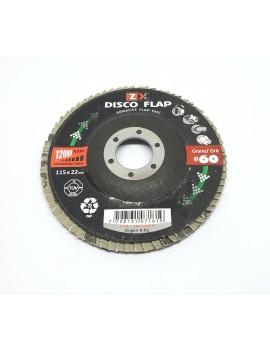 "Discos FLAPS de 4 1/2"" (115..."